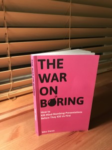 The War on Boring Paperback